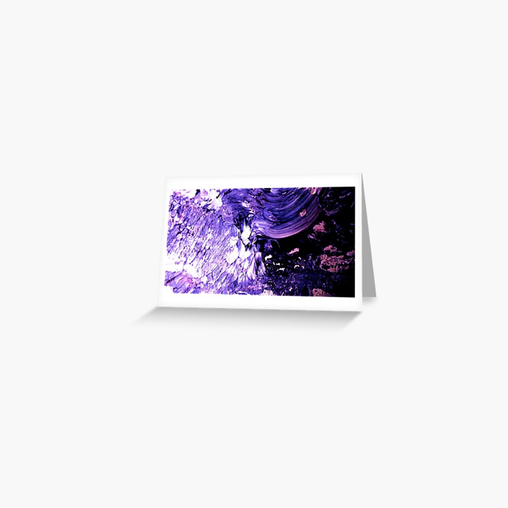 Purple Mountains Majesties Greeting Card