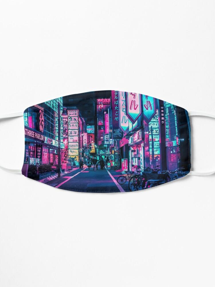Alternate view of Tokyo - A Neon Wonderland  Mask