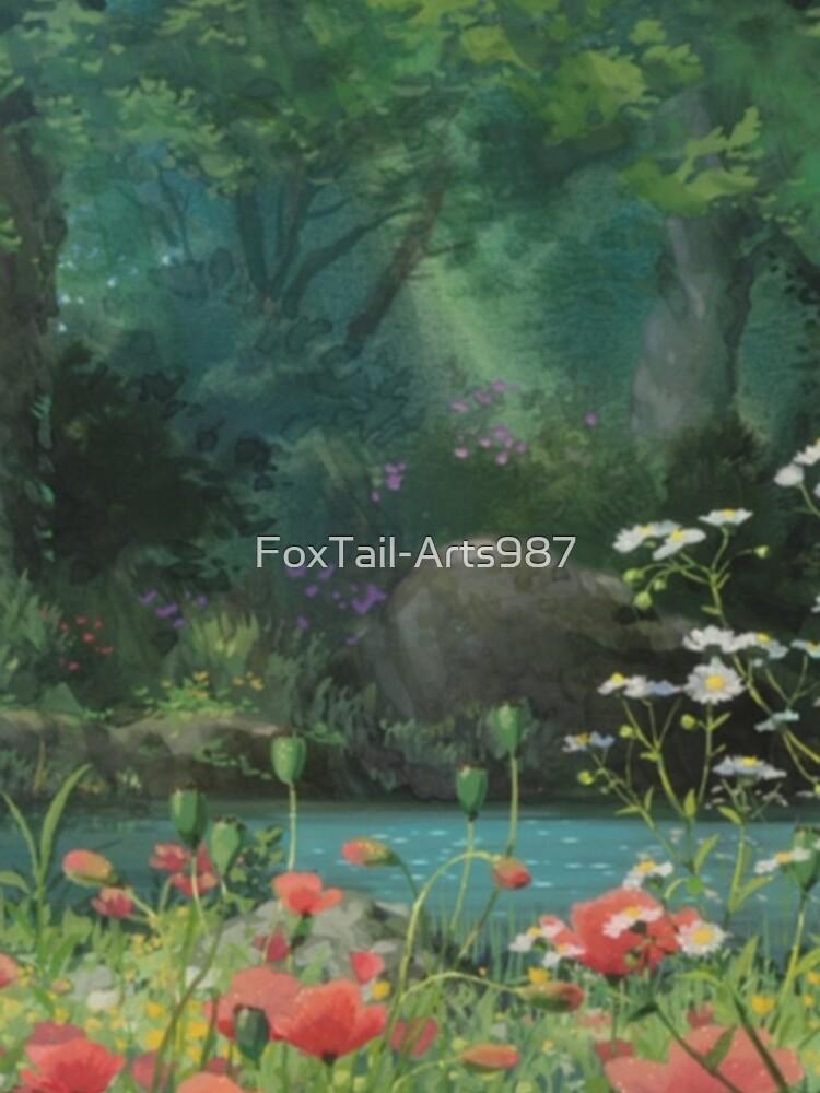 Ghibli Hintergrund von FoxTail-Arts987