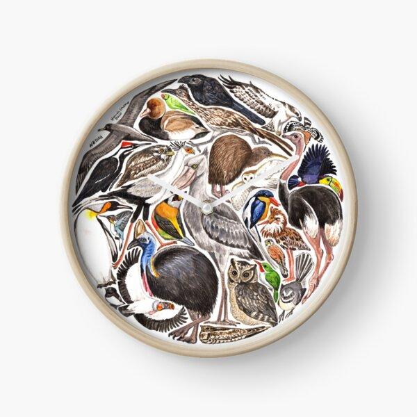 BTFAH - a world of birds Clock
