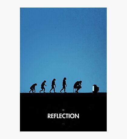 99 Steps of Progress - Reflection Photographic Print