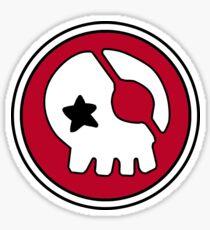 Asuka Skull Sticker