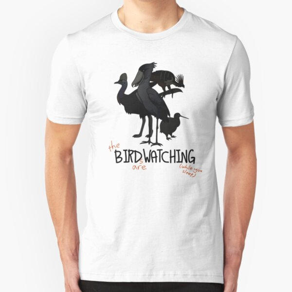 Birds are watching Slim Fit T-Shirt