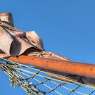 Boat bow pole by Peter Wiggerman