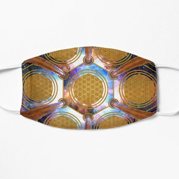 Flower of life Healing Code Flat Mask