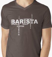 Barista Men's V-Neck T-Shirt