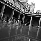Roman Baths by Colin Shepherd