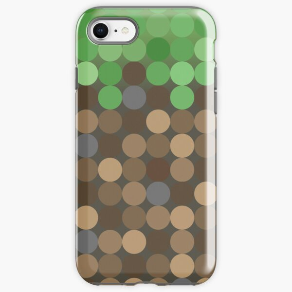 Dot Block iPhone Tough Case