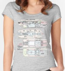 Firefly Serenity Tankerton Class Women's Fitted Scoop T-Shirt