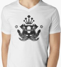 Barista Crest (light tees and hoodies) Men's V-Neck T-Shirt