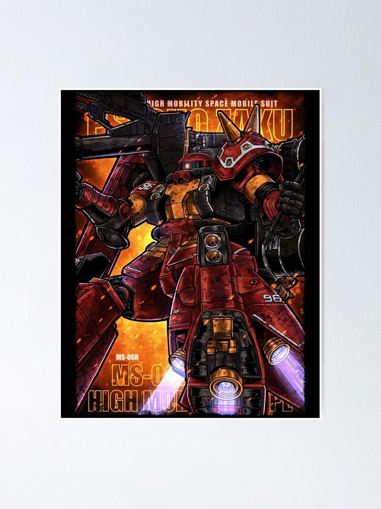 Alternate view of Psycho Zaku Poster