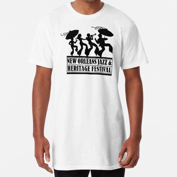 New Orleans Jazz & Heritage Festival  Long T-Shirt