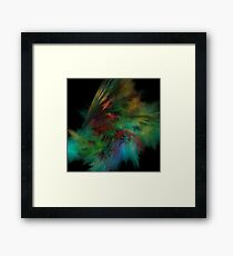 Forces - Abstract Fractal Framed Print