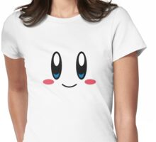 Kirby Face Womens Fitted T-Shirt
