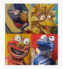 sesame street abstract Photographic Print