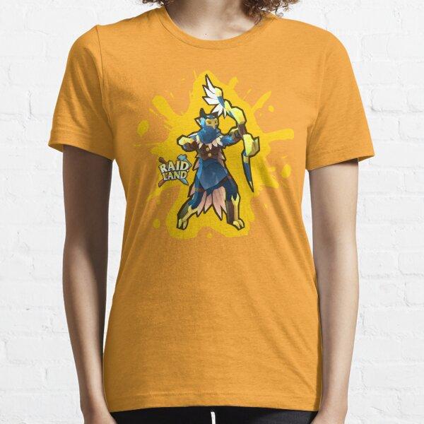 Raid.Land Falcon Hunter Yellow Essential T-Shirt