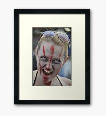 BRAINS Framed Print