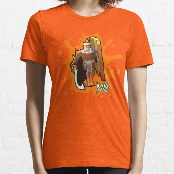 Raid.Land Immortal Warrior Orange Essential T-Shirt