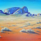 Outback Monoliths by Carla Whelan