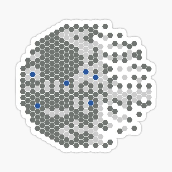 Small Moon Sticker