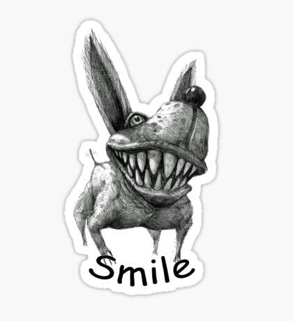 Smile Dog Sticker