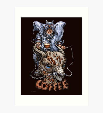 Colonel Coffee Art Print