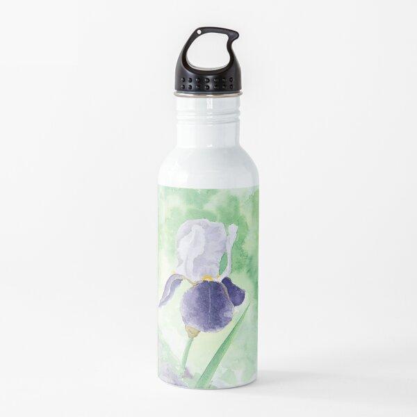 Purple Iris Water Bottle