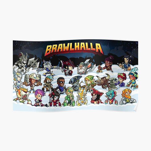 La famille Brawlhalla Poster
