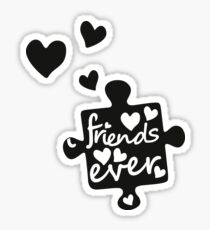 Best Friends Forever Connection Puzzle (right) Sticker