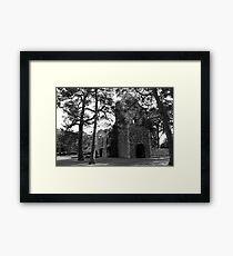 Peebles Cross Kirk Framed Print