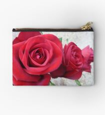 Three Red Roses Studio Pouch