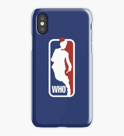 WHO Sport No.11 iPhone Case