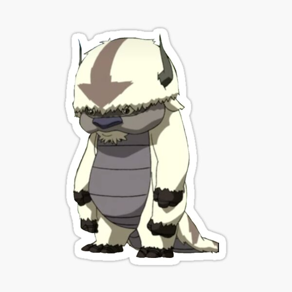 appa standing Sticker