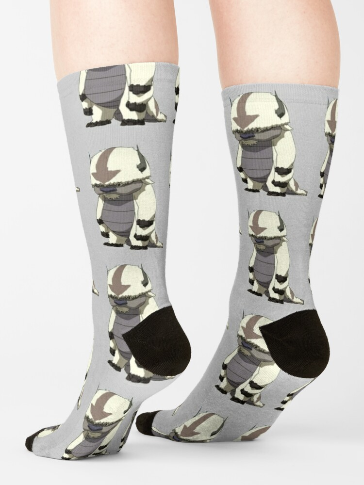 Alternate view of appa standing Socks
