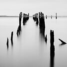 Old Tenby Point Pier by Joel McDonald