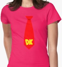 DK Tie Womens Fitted T-Shirt