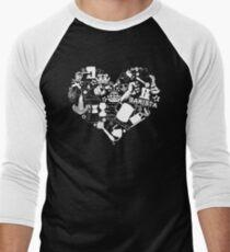 Barista Love Men's Baseball ¾ T-Shirt