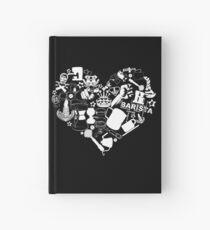 Barista Love Hardcover Journal