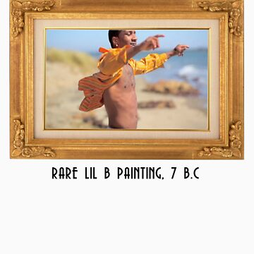 RARE LIL B PAINTING by OGBEACHMAN