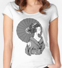 Vecta Geisha Women's Fitted Scoop T-Shirt