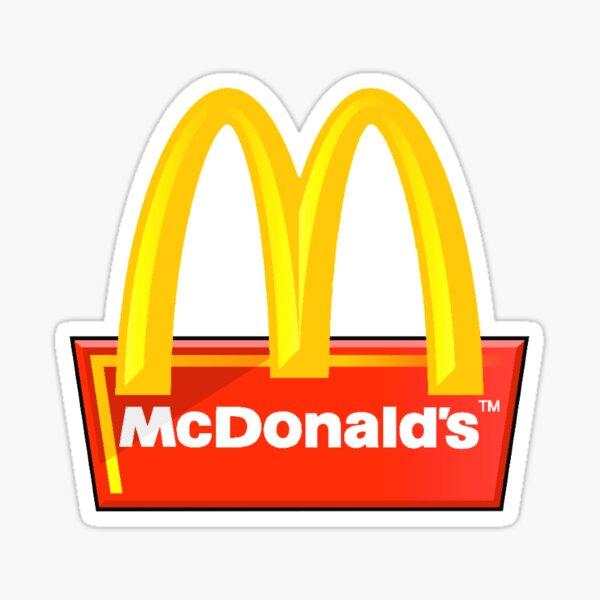 Mcdonald's Pegatina