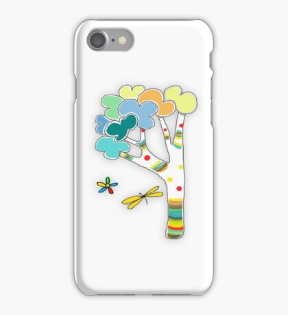rainbow tree iPhone and iPad case iPhone Case/Skin
