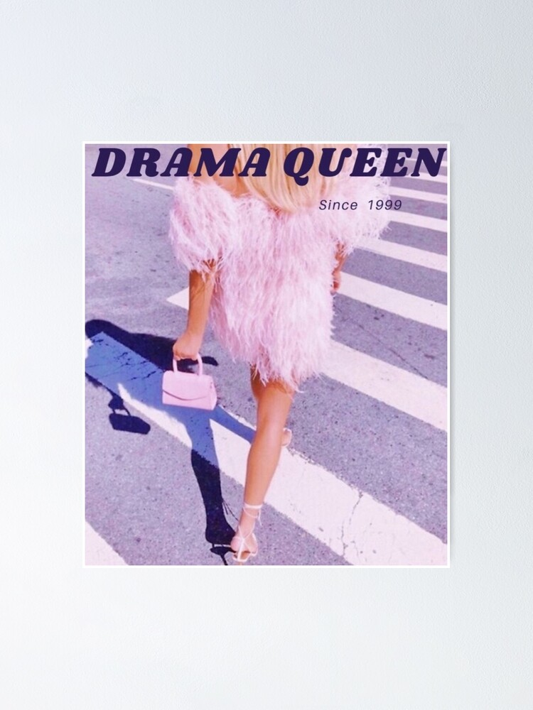 Poster ''Drama Queen': autre vue