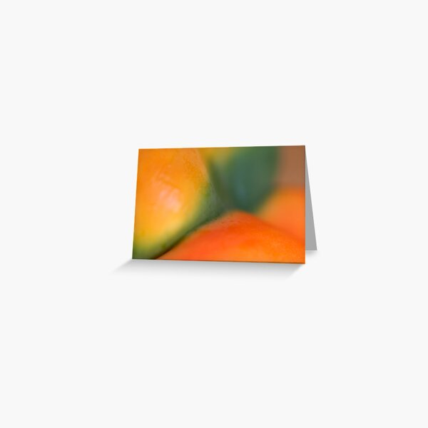 painted bodyscape Greeting Card