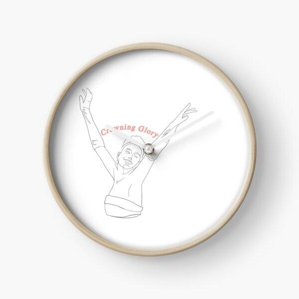 Crowning Glory - Princess Diaries Quote Clock
