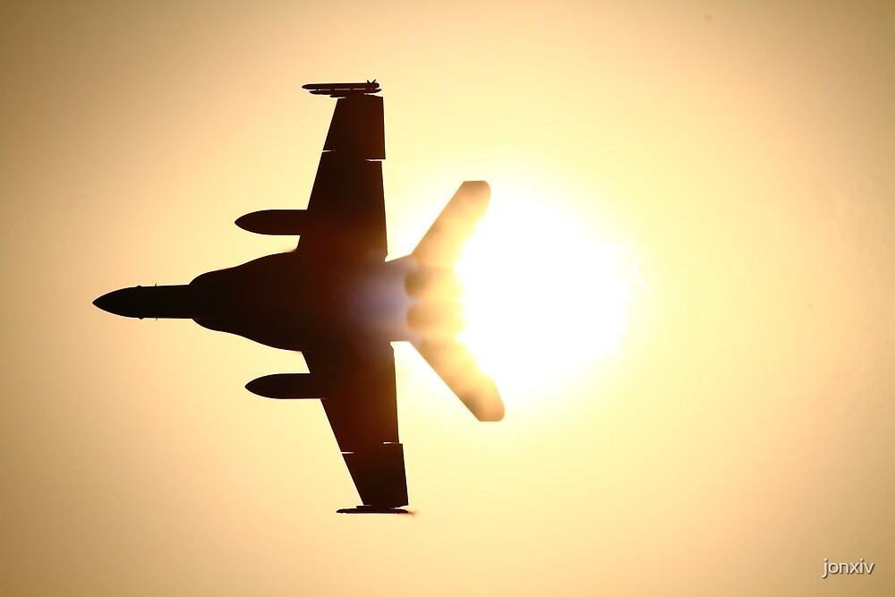 """""""F18 - Sun Flare"""" by jonxiv"""