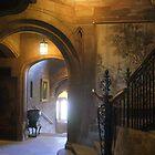 Bamburgh Castle interior view by BronReid