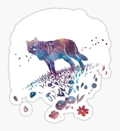 Astral Wolf Sticker