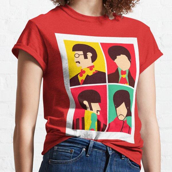 The Fab Four - Minimalist Classic T-Shirt