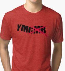 Tout l'argent des jeunes, baise argent comptant! Lil Wayne YMCMB T-shirt chiné